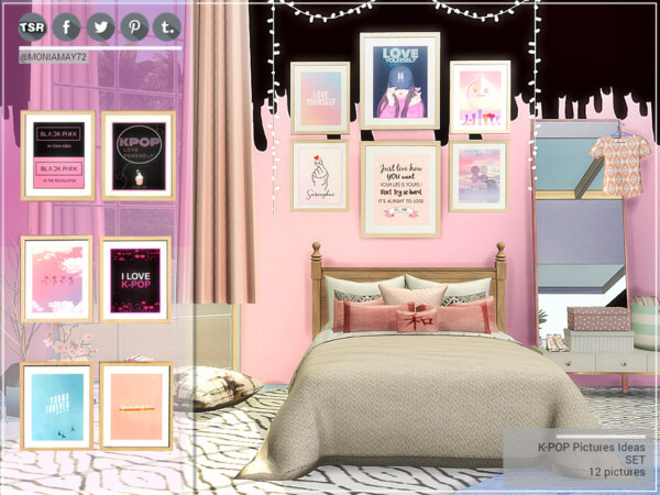 K POP Picture Ideas Set by Moniamay72 from TSR