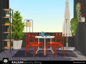 Kalium Balcony Dining