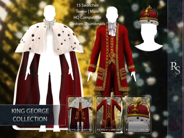 King George Collection from Revolution Sims