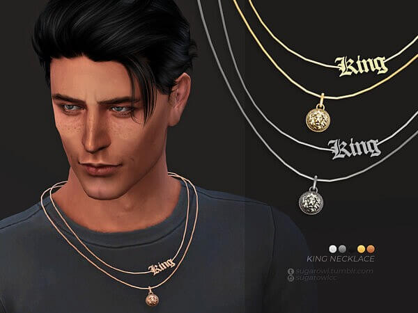 King necklace by sugar owl from TSR