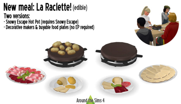 La Raclette from Around The Sims 4