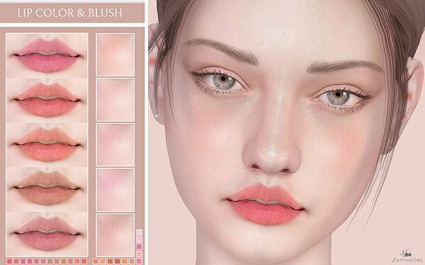 Lip Color and Blush