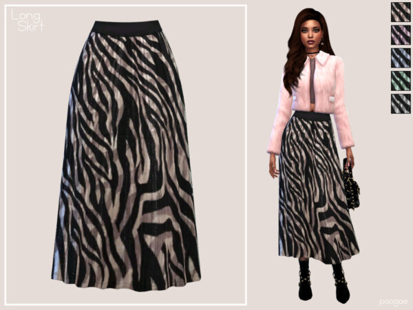 Long Skirt by Paogae from TSR