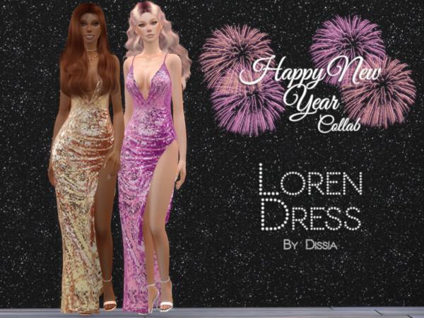 Loren Dress by Dissia from TSR