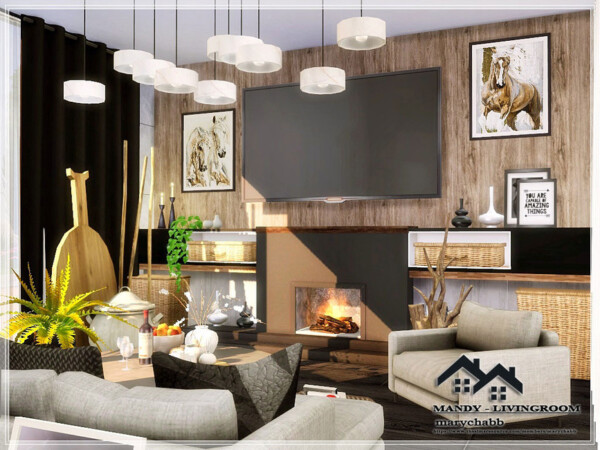 Mandy Livingroom by marychabb from TSR