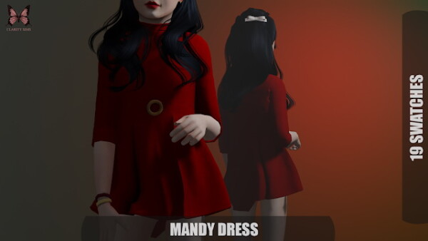 Mandy Dress from Clarity Sims