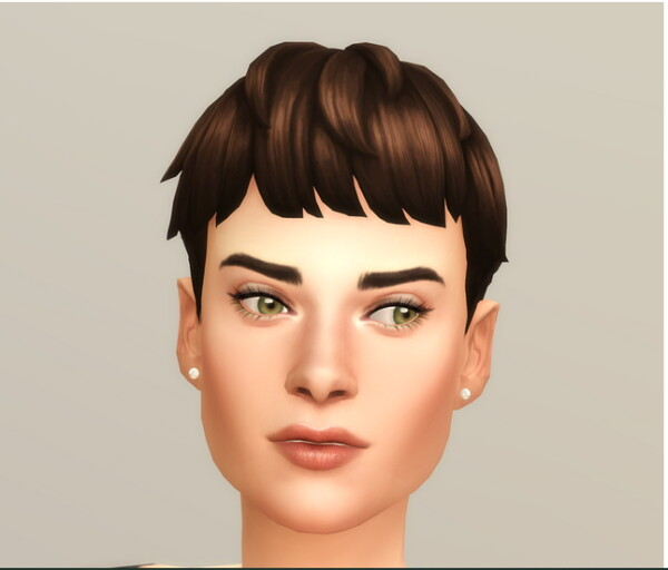 Messy Cut Hair Edit