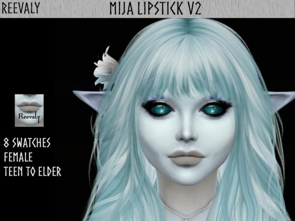 Mija Lipstick V2 by Reevaly from TSR