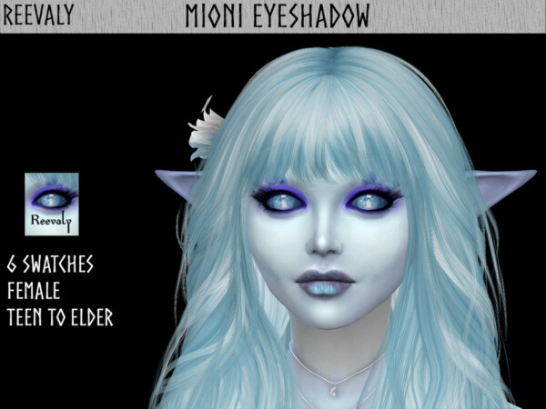 Mioni Eyeshadow by Reevaly from TSR