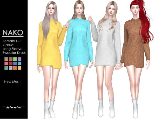 NAKO Casual Sweater Dress