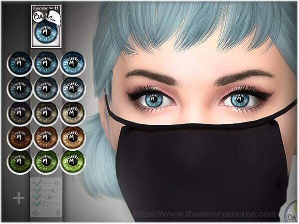 Natural eye colors 11 by BAkalia from TSR