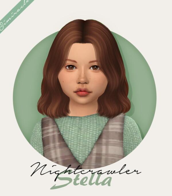 Nightcrawler`s Stella Hair Retextured from Simiracle