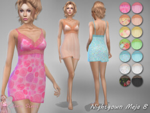 Nightgown Meja 8