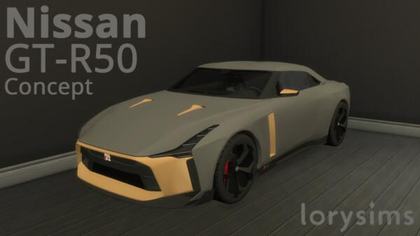 Nissan GT R50 Concept