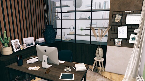 Office Room from Models Sims 4