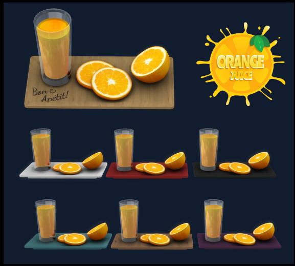 Orange juice from Leo 4 Sims