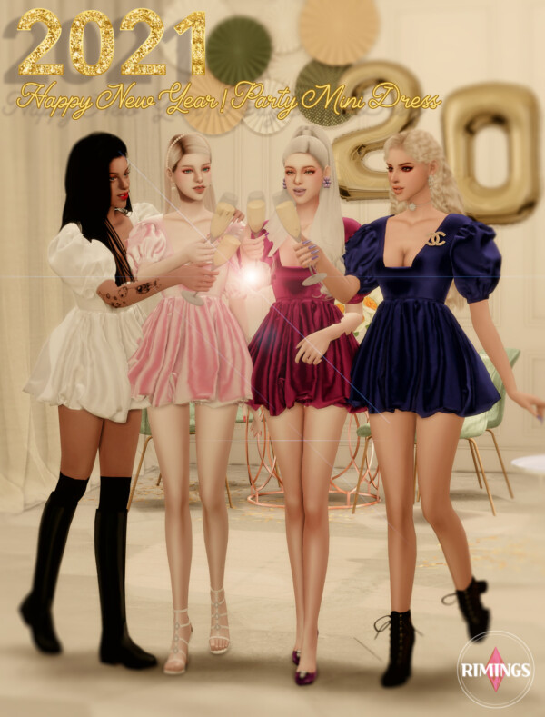 Party Mini Dress from Rimings