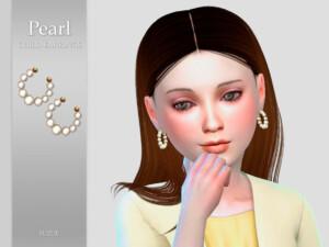 Pearl Child Earrings