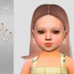 Pearl Toddler Earrings