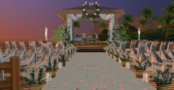 Pier Wedding Beach