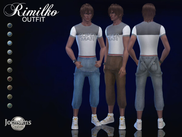 Rimilko outfit by jomsims from TSR