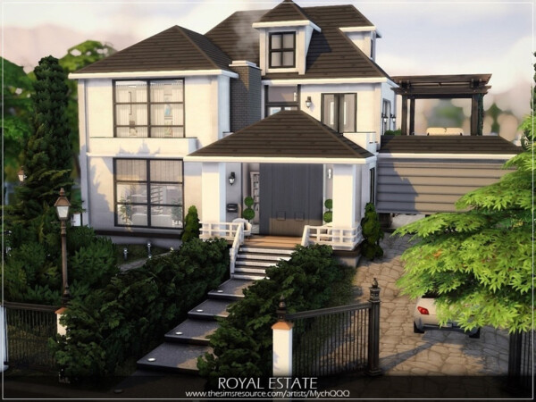 Royal Estate House by MychQQQ from TSR
