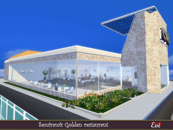 Semiramis Golden Restaurant by evi from TSR