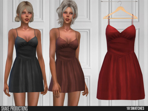 596 Dress by ShakeProductions from TSR