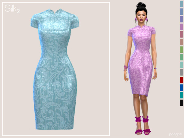 Silk Dress 2 by Paogae from TSR