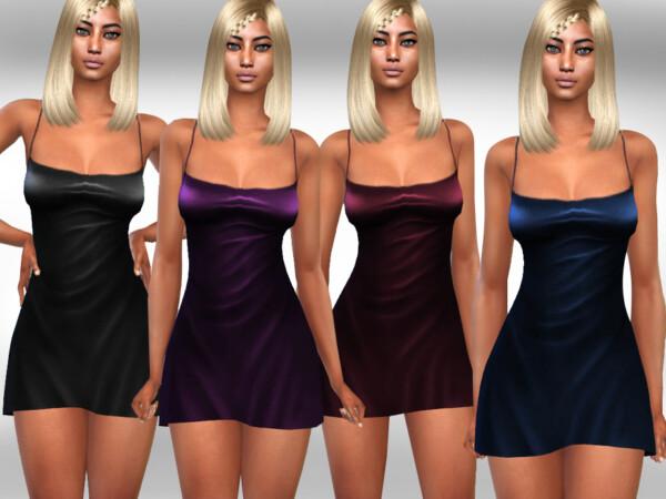 Silk Basic Sleeping Gowns by Saliwa from TSR