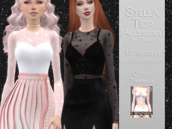 Stella Top by  Dissia from TSR