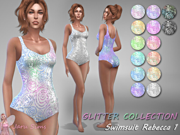 Swimsuit Rebecca 1 by Jaru Sims from TSR