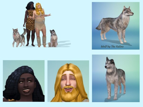 The Nuuh Family from KyriaTs Sims 4 World