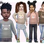 Toddler Animal Sweater