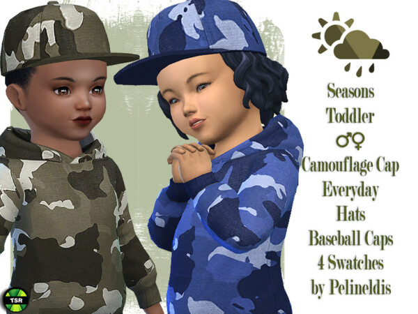 Toddler Camouflage Cap