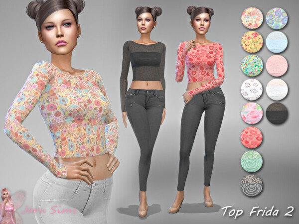 Top Frida 2  by Jaru Sims from TSR