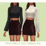 Two Piece Leo Dress 04