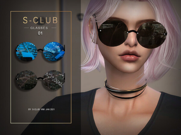 WM Glasses 202101 by S Club from TSR