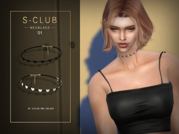 WM Necklace 202101 by S Club from TSR