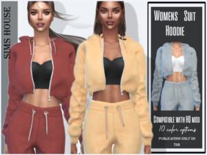 Womens Suit Hoodie