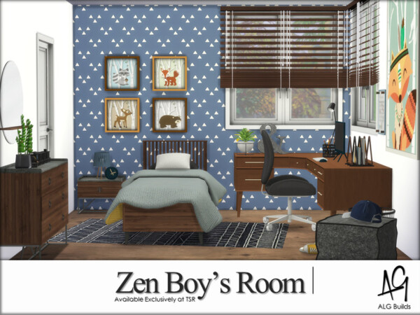 Zen Boys Room by ALGbuilds from TSR