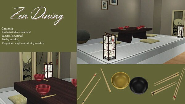 Zen Dining from Sunkissedlilacs