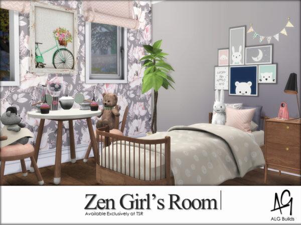 Zen Girls Room by ALGbuilds from TSR