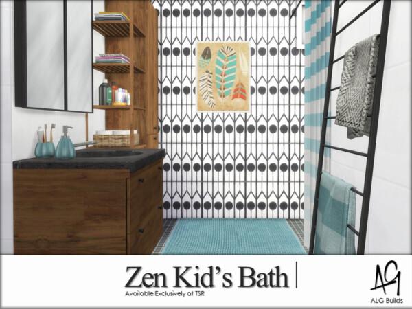 Zen Kids Bath by ALGbuilds from TSR