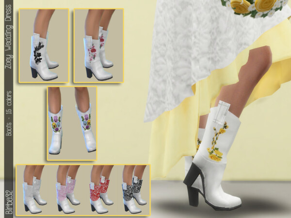 Zoey Texan Boots
