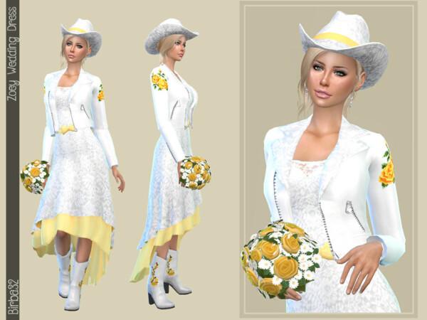 Zoey Wedding Dress by Birba32 from TSR