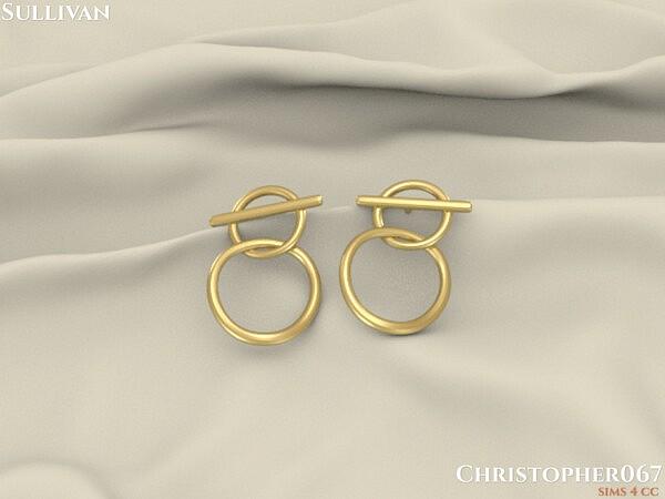Sullivan Earrings  by christopher067 from TSR