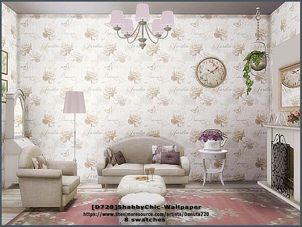 Shabby Chic Wallpaper by Danuta720 from TSR