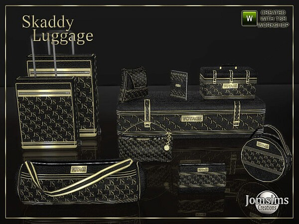 Skaddy Luggage by jomsims from TSR