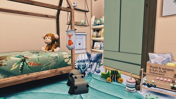 Safari Kidsroom from Models Sims 4